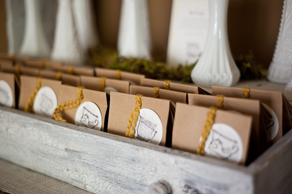 Elegant Baby Showers favors and ideas