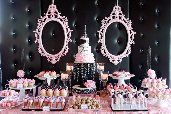 Paris Inspired Baby Shower