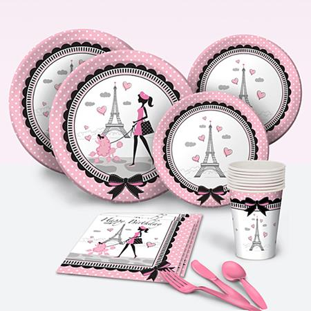 parisian-baby-shower-tablewares