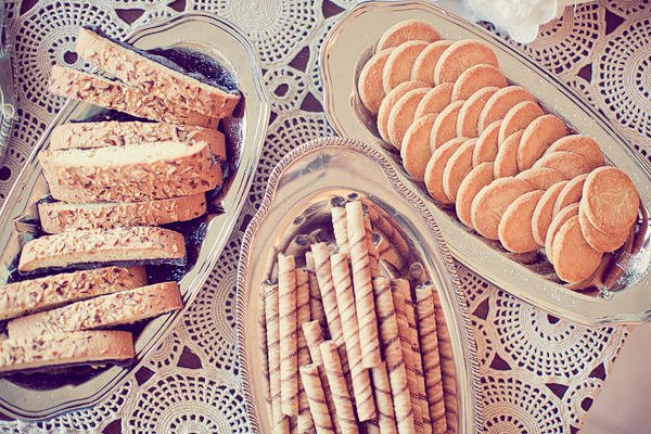 Parisian bakery and biscuits snacks