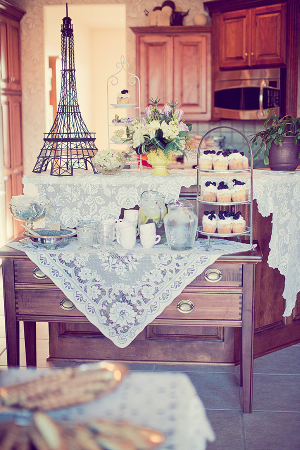 Vintage parisian baby shower