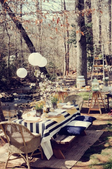 Shabby Chic Themed Baby Shower (7)