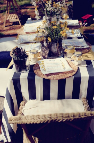 Shabby Chic Themed Baby Shower (8)