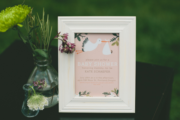 Whimsical Baby Shower welcome sign