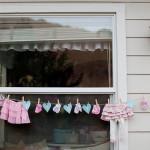Pretty Backyard Baby Shower