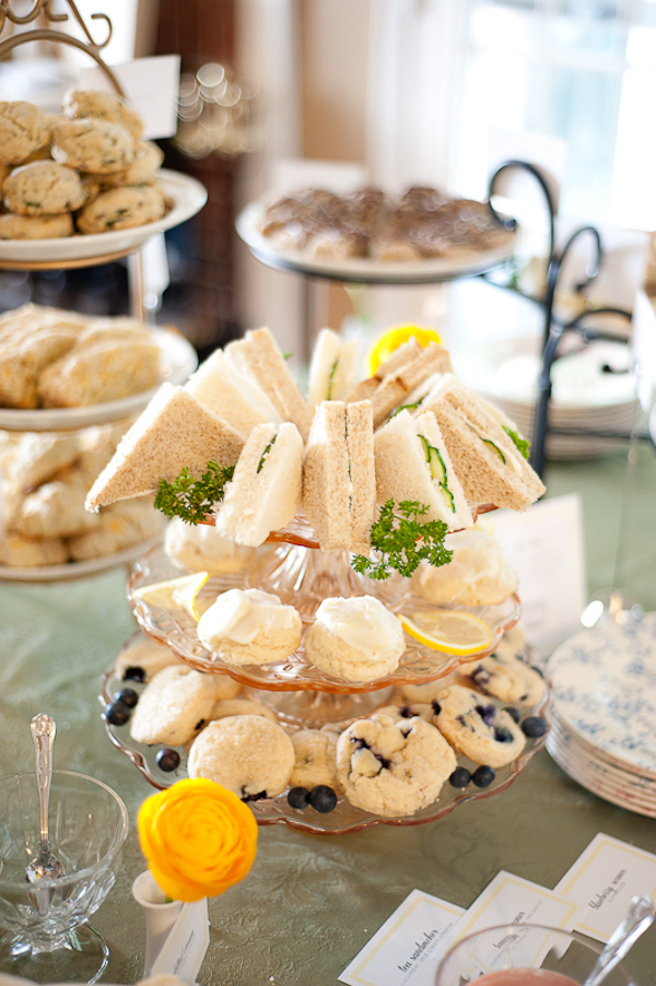 Elegant Baby Showers food ideas