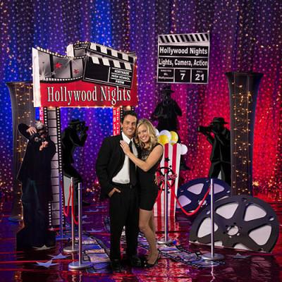 hollywood scene setter stage