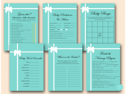 tiffany-baby-shower-game-package-breakfast-at-tiffany