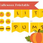 Free Little Pumpkin Printable