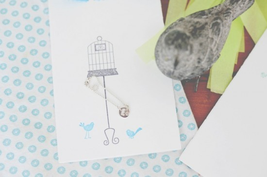 Bird Baby Shower ideas note