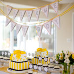 Bumble bee Baby Shower for Baby Boy