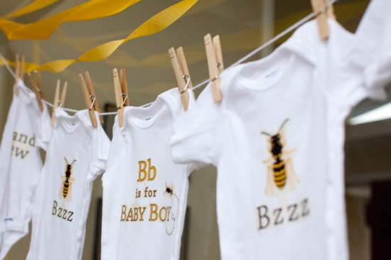 Bumble bee Baby Shower for Baby Boy (17)