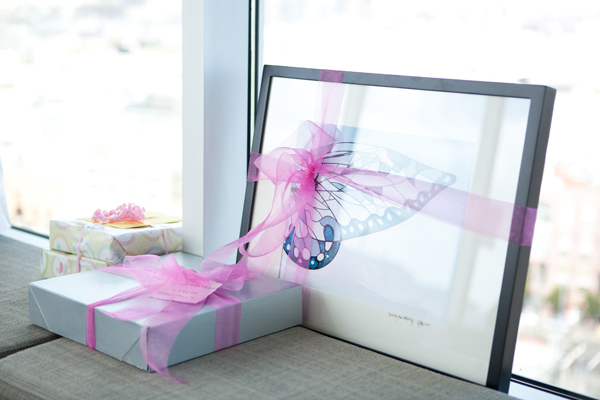 large butterfly picture frame