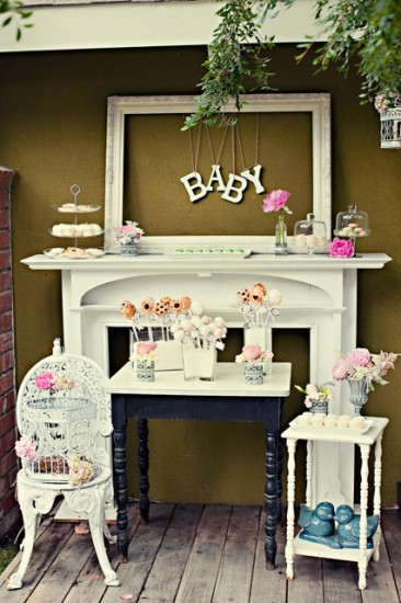 Chanel Inspired Chic Baby Shower ideas (18)