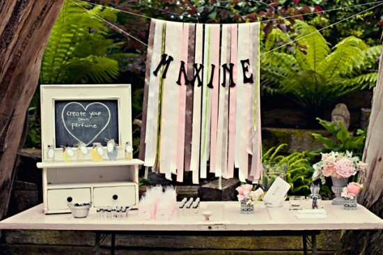 Chanel Inspired Chic Baby Shower ideas (4)