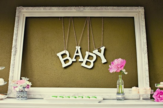 Chanel Inspired Chic Baby Shower ideas (8)