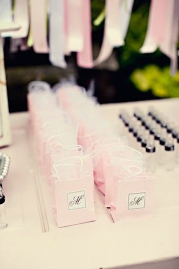 Chanel Inspired Chic Baby Shower ideas decorations