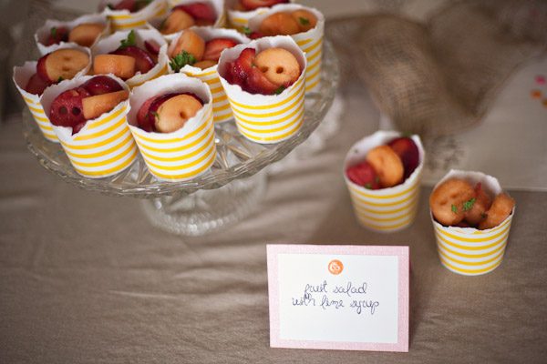 Cute as a Button Baby Shower food 2