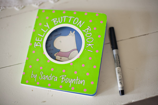 Cute as a Button Baby Shower note