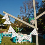 Green Blue Owl Baby Shower