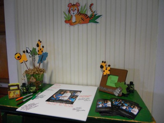 It's a Jungle Out There Themed Baby Shower (15)