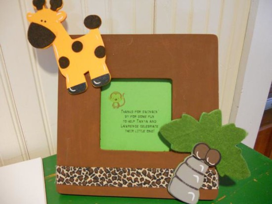 It's a Jungle Out There Themed Baby Shower (16)