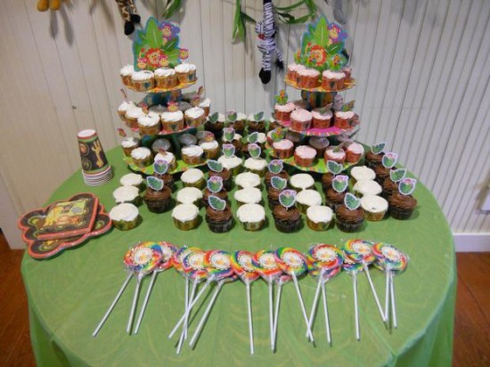 It's a Jungle Out There Themed Baby Shower (2)
