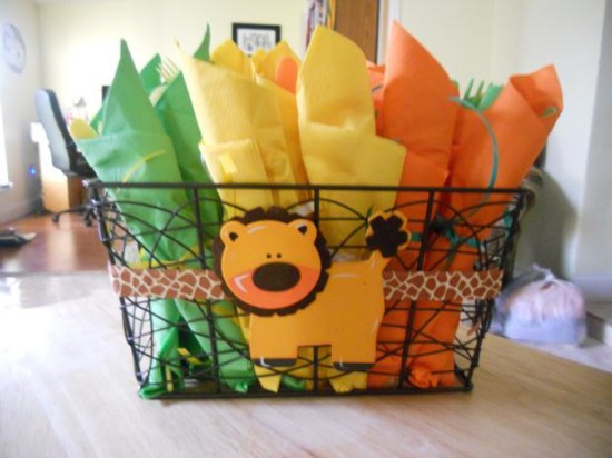 It's a Jungle Out There Themed Baby Shower (3)