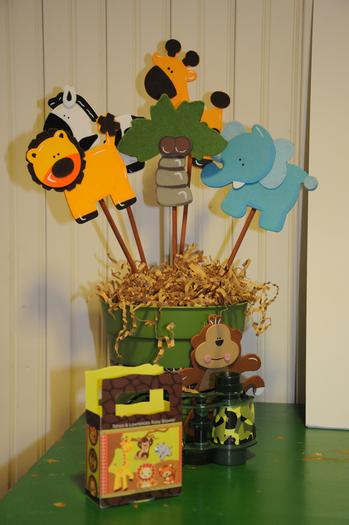 It's a Jungle Out There Themed Baby Shower