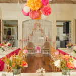 Pink Orange Baby Shower