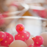 Pink Rubber Ducky Baby Shower