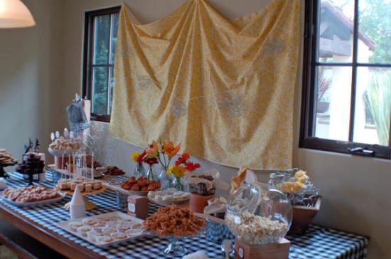 Stout Baby Farm Theme dessert table