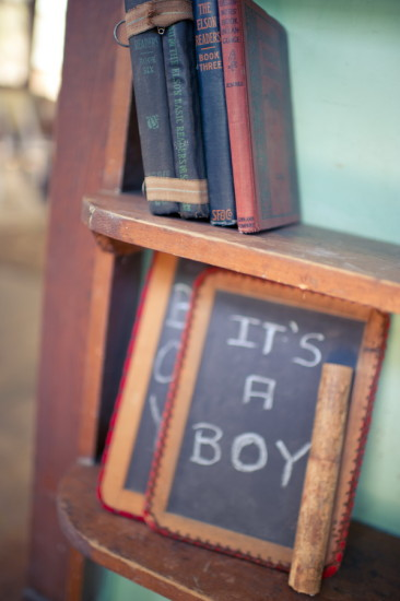 Vintage Schoolhouse Baby Shower ideas (5)