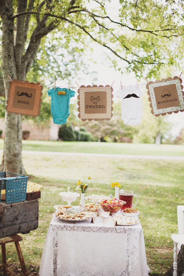 Vintage Woodland Baby Shower (2)