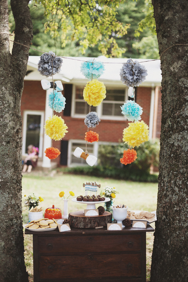 Vintage Woodland Baby Shower (22)