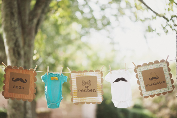 Vintage Woodland Baby Shower
