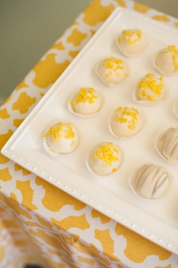 Yellow, Grey and White Baby Shower (8)