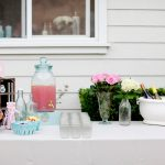 Pretty Backyard Baby Shower