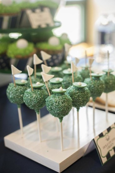 Daddy's Little Caddy cakepops