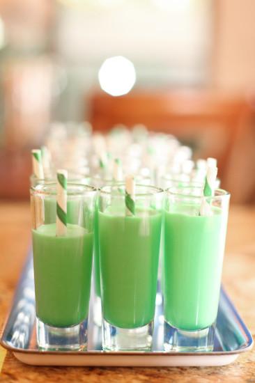 Mini Cooper Boy Baby Shower green drink