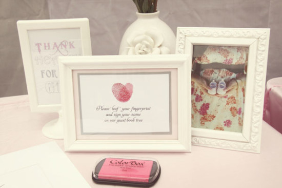 Pretty in Pink and Gray Baby Shower (2)