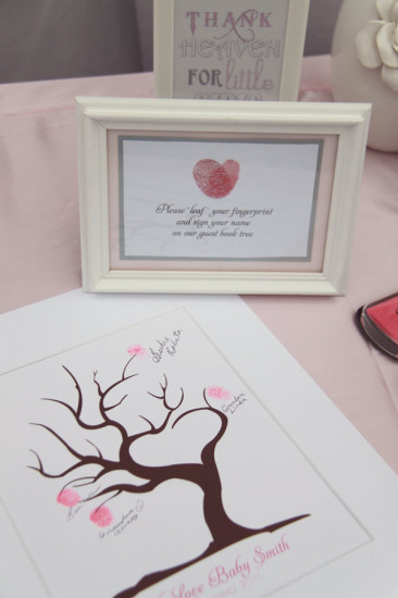 Pretty in Pink and Gray Baby Shower (3)