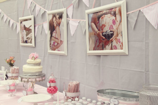 Pretty in Pink and Gray Baby Shower (5)