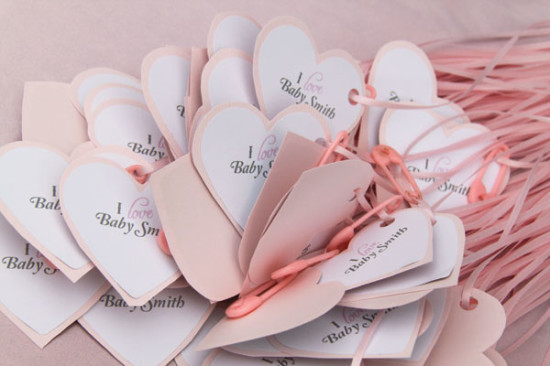 Pretty in Pink and Gray Baby Shower