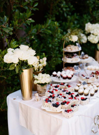 Vintage Parisian Baby Shower dessert table