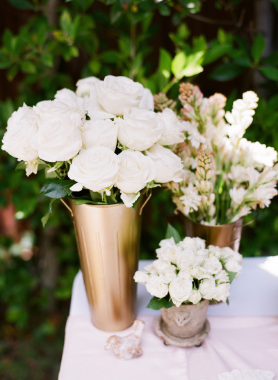 beautiful arrangement of white flower