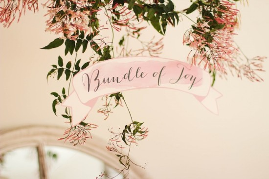 bundle of joy sign