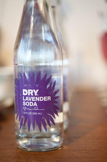 dry lavender soda