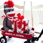 Classic Sock Monkey Baby Shower