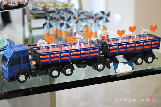 truck with loads of sweets